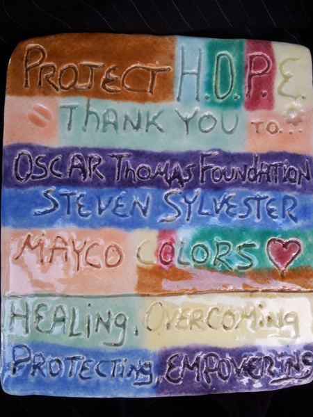 thanks mayco colors oscar thomas foundation